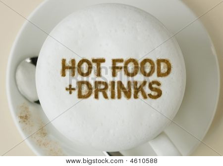 Hot Food And Drinks