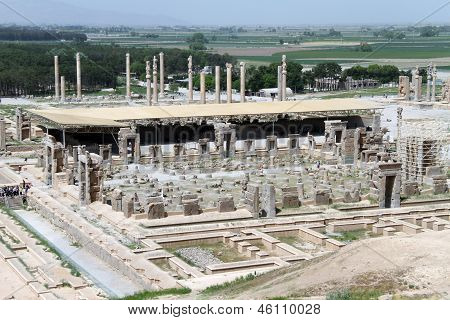View Of Persepolis From The Hill