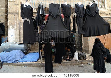 Yemen, Street Market