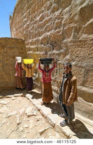 Jemenitische Kinder