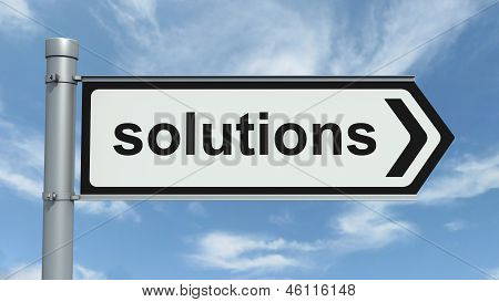 Road Sign - Solution
