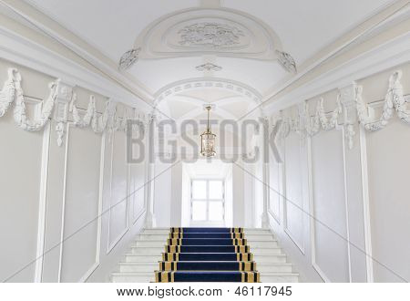 Stairwell in the Polish palace.
