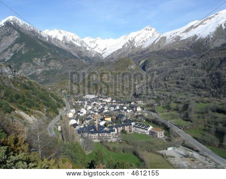 The Picturesque Town Of Panticosa