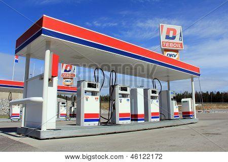 Diesel Refueling Station