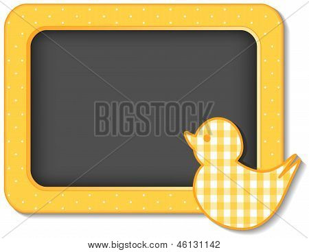 Baby Duck Nursery Bulletin Board
