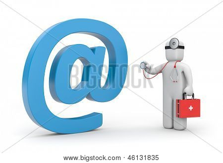 Doctor exam email sign