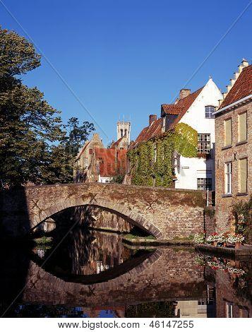 Green Quay, Bruges, Belgium.