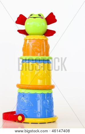Stackable Frog Cup Game