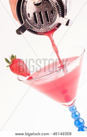 Strawberry Daiquiri Cocktail