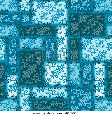 Seamless Blue Pattern