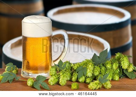 Bier vom Faß