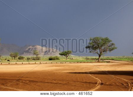 Namibia_approaching Storm