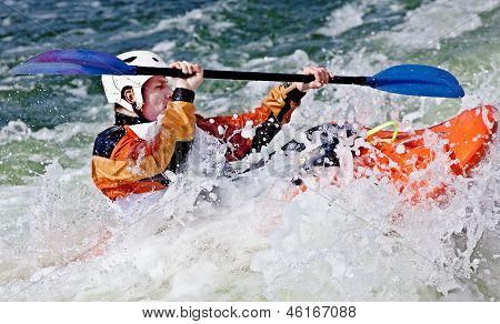 rodeo kayaking