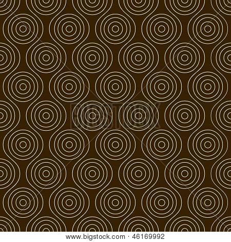 Nahtlose Muster mit Kreisen