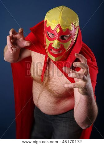 Luchador About To Attack