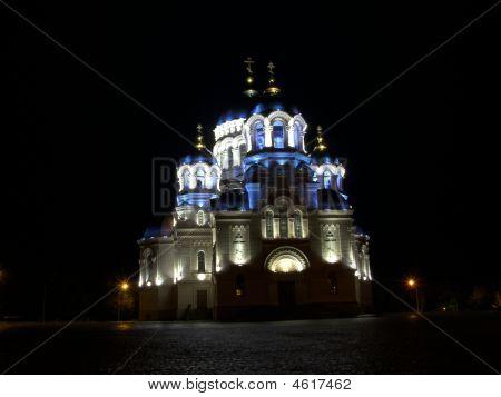 Temple On The Square In Novocherkassk