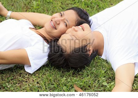 Young Lovely Couple