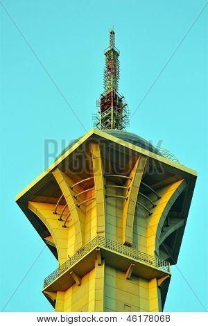 Saudi TV Tower in Jeddah