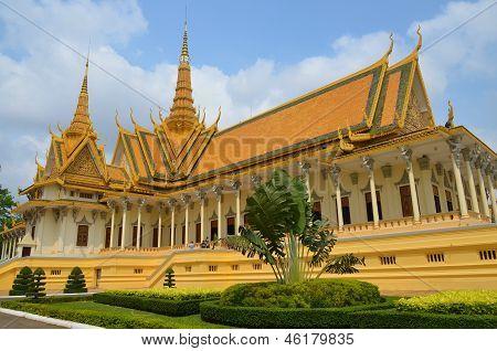 The Royal Palace Phnom Penh, Cambodia