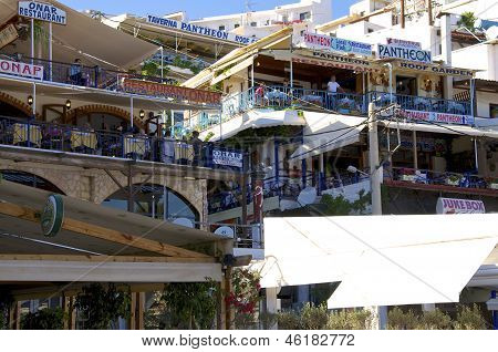Taverns in Agia Galini