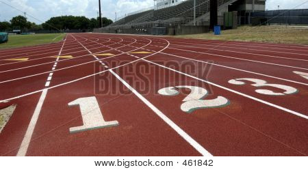 Tracklanes 1, 2 3