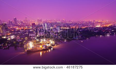Bangkok City Scape, no Nighttime