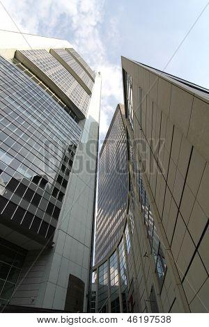 Modern Architecture In Frankfurt Am Main.