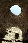 picture of shiraz  - Inside dome of Ardeshir - JPG