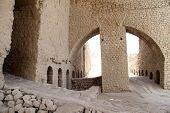 stock photo of shiraz  - Inside ruined Ardeshir - JPG
