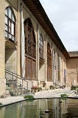 picture of shiraz  - Facade of palace in fortress Arg - JPG