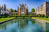 stock photo of martha  - Ford Dining Hall at Berry College in Rome - JPG
