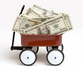 Cash In Toy Wagon