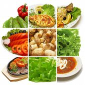 picture of vegetarian meal  - Meal collection  - JPG