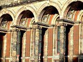 Medieval Building Detail poster