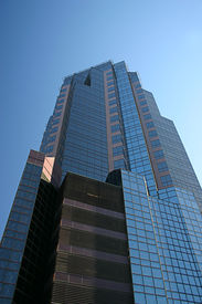 image of high-rise  - High rise office building in Sacramento California  - JPG