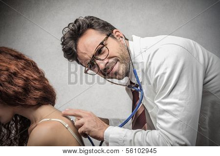 Worried Doctor