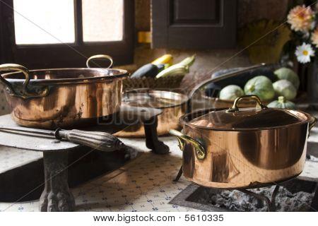 Cocina del siglo XVII