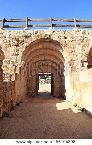 Entrance to the Hippodrome, Jerash