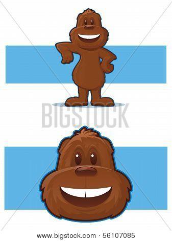 Gopher Mascot Cartoon