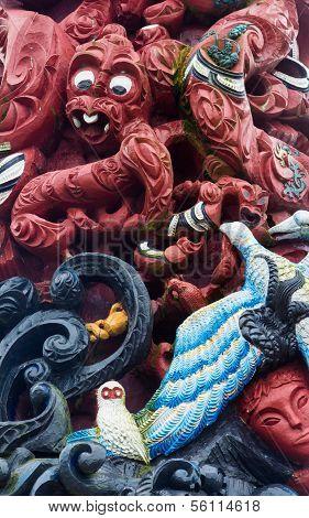 Maori Carving Art