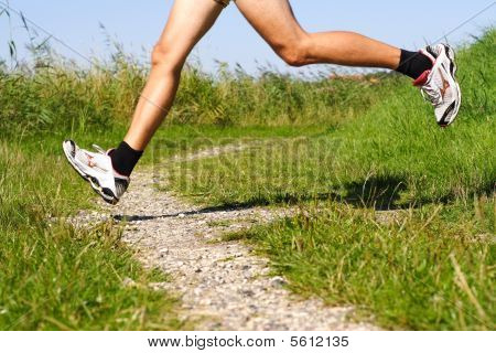 Running On Trail