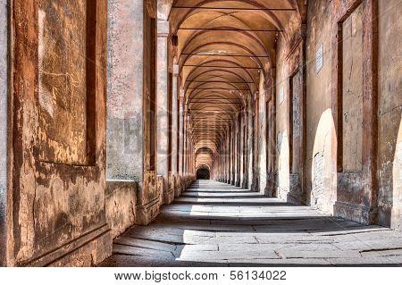 Portico di San Luca, Bologna, Italien