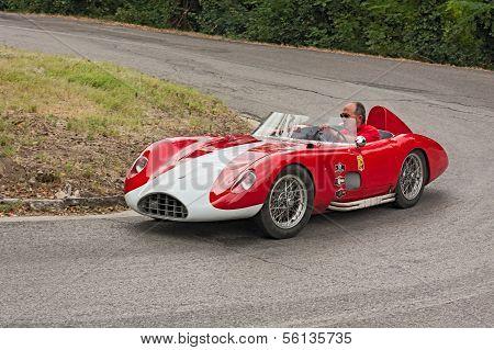 Old Racing Car Bandini 750 Sport