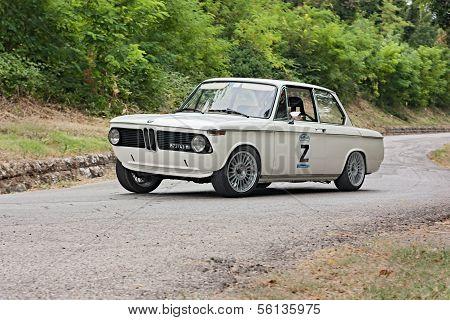 Vintage Rally Car Bmw