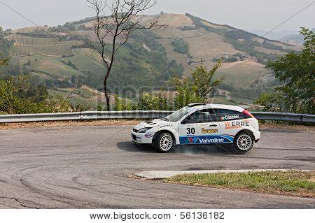 Rally Car Ford Focus Wrc