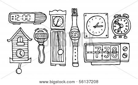 Time Set or Clocks And Watches