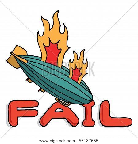 Big Zeppelin Fail