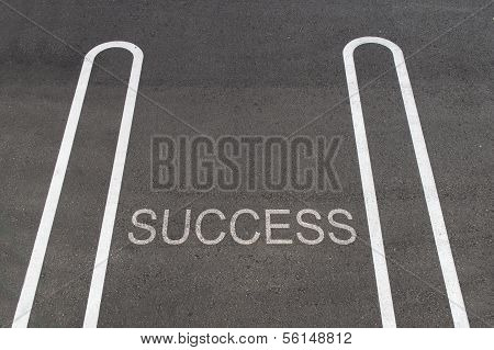 Parking Only For Success
