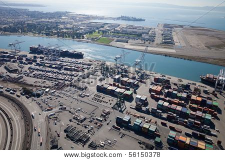Port Of Oakland - Oakland, California, Usa