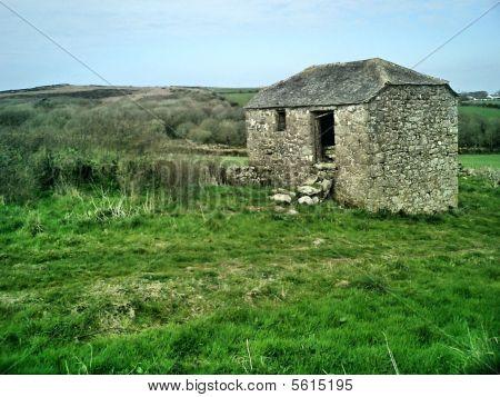 Ruined shack